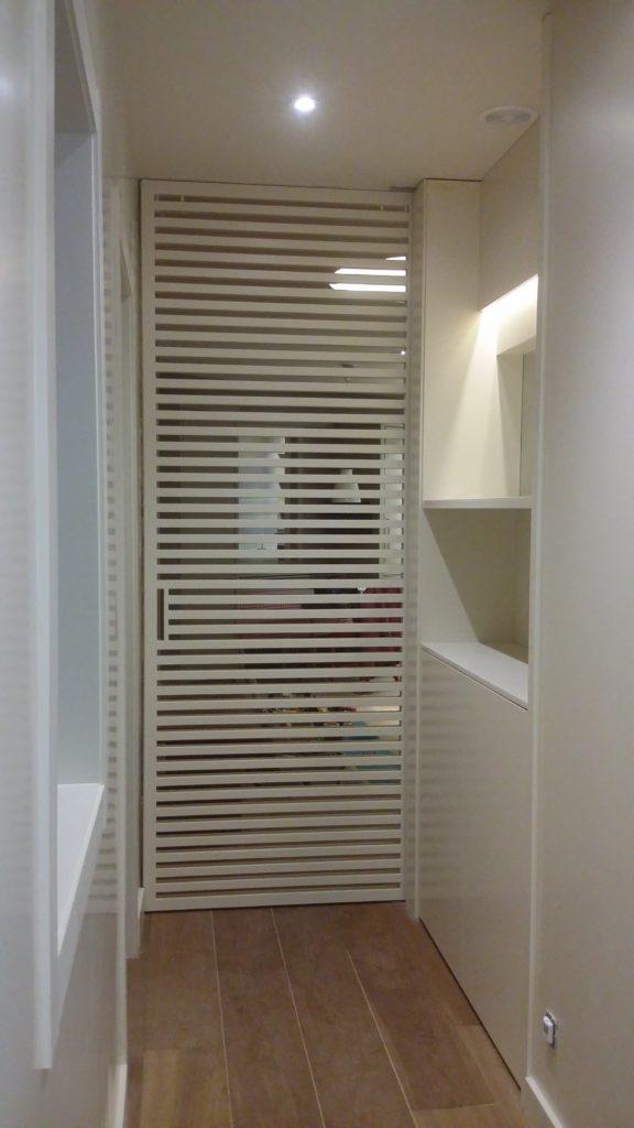 Fabricar puerta corredera interesting fabulous mampara - Hacer puerta corredera barata ...